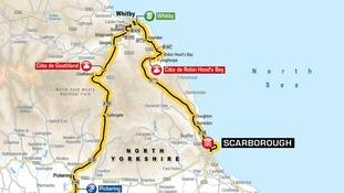 The 2017 Tour de Yorkshire: See maps of the routes