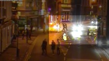 Police release CCTV of alleged Halloween assault
