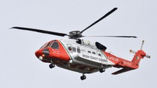 A woman believed to have fallen from a ferry into the Irish Sea has been found dead.