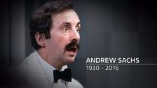 Andrew Sachs: Showbiz world says thanks for the laughs