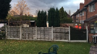Woman's body found after shed fire in Manchester