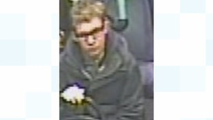 Police have released this image of a man they would like to speak to in connection with the incident