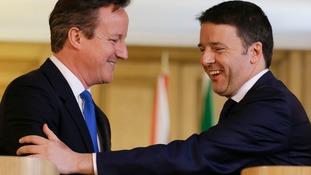 Cameron and Renzi