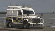 Man charged amid Carrickfergus paramilitary activity