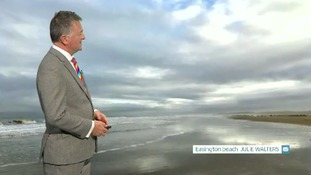 Late weather update with Jon Mithell