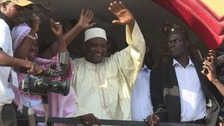 Former Argos security guard elected President of Gambia
