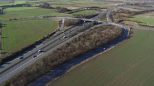 Ariel shot of the A19