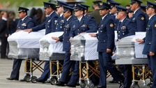 Brazil begins repatriation of plane crash victims