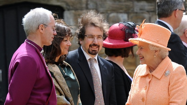 Rt Rev Justin Welby and the Queen