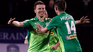 Cliftonville up to second after beating Coleraine