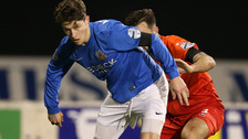 Dungannon clinched it with a late winner.