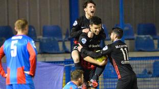 Ards and Ballinamallard share six-goal thriller