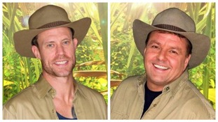 Wayne Bridge (left) and Martin Roberts (right) are the latest celebrities to be evicted from the jungle.