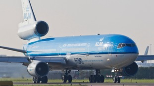 The KLM flight has been scheduled to leave Glasgow Airport at around 5pm on Friday.