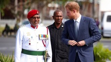 Harry to see Guyana's rainforest as Caribbean tour ends