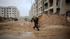 Swathes of east Aleppo have been seized by government troops