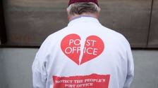 Post Office workers walk out in protest