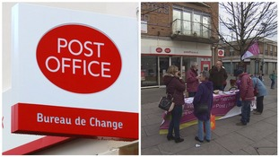 Post Office workers strike in long-running row over jobs and pensions