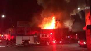 Dozens feared dead after 'rave cave' warehouse club fire
