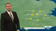 Weather: Dry and cold with clear or sunny spells.