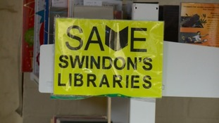 'Read in' staged to save Swindon's libraries