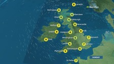 Weather: Another dry day with some fine spells