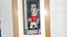 Sam Warburton rugby memorabilia stolen from pub