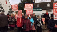 'We won't stay quiet'- Protest staged to save Swindon's libraries