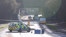 Investigation launched after body found in bushes near roadside