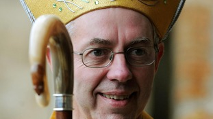 The Bishop of Durham, the Right Reverend Justin Welby.