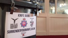 Church urges community to get rid of their knives