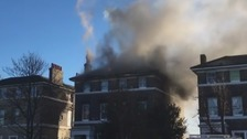 Eight engines and 58 firefighters battle Blackheath blaze