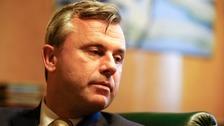 Norbert Hofer has conceded defeat