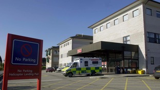 The woman was confirmed dead on arrival at hospital