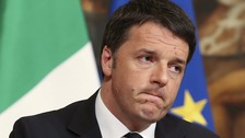 Italian exit poll shows heavy defeat for PM Renzi in referendum