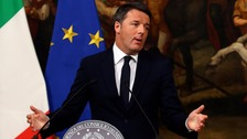 Italian PM Matteo Renzi to resign after referendum defeat