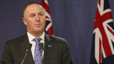 Surprise as New Zealand PM John Key announces resignation