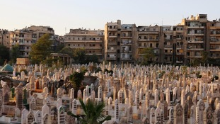 Dead left on streets of Aleppo as Syrian city's cemeteries fill up