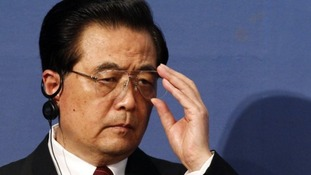 Chinese President Hu Jintao.
