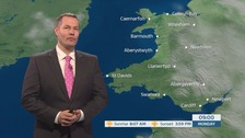 Wales Weather: Lots of mist and fog