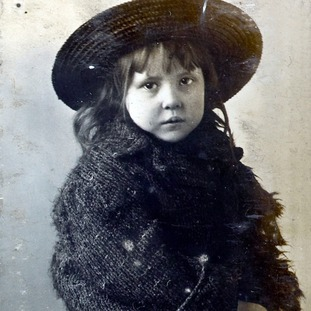 Violet Beckett, one of the hundreds of children buried in unmarked graves