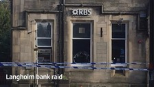 Man arrested in connection with Langholm bank raid