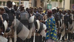 Mali protest