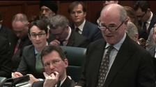 Mr James Eadie, right, and the Attorney General, left, outlined the Government's appeal case.