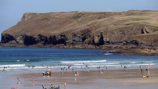 The woman was on holiday in Polzeath