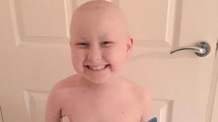 School make video for superhero cancer-fighter Logan