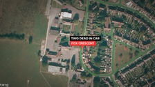 Two people have been found dead in a car at Fox Crescent in Chelmsford