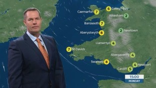 Wales weather: Cold and dry