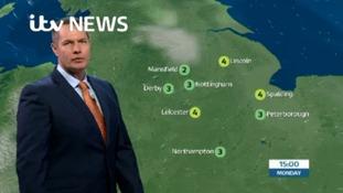 East Midlands Weather: Mist and fog lifting