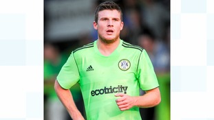 James Norwood when he was playing for Forest Green Rovers before joining Tranmere in the summer